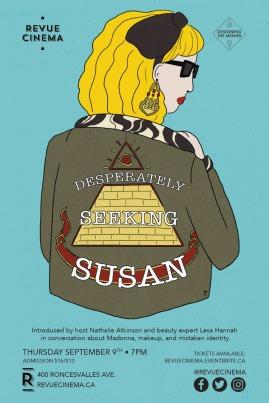 Desperately seeking susan poster revue cinema 2021