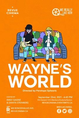 Waynes world poster