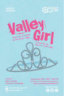 We Really Like Her Valley Girl Poster